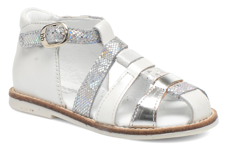 Sandales et nu-pieds Babybotte Toucan1 Argent vue détail/paire