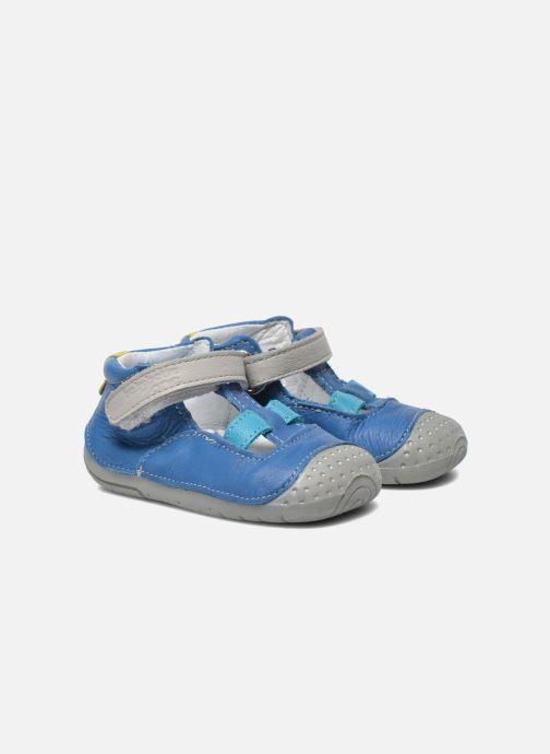 Pantoffels Babybotte Zefir Blauw 3/4'