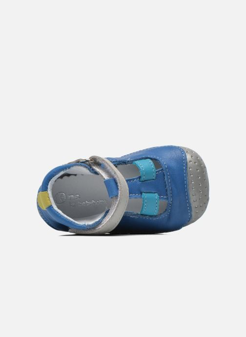 Pantoffels Babybotte Zefir Blauw links
