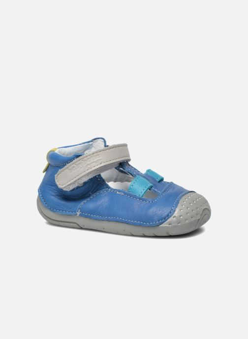 Slippers Babybotte Zefir Blue detailed view/ Pair view