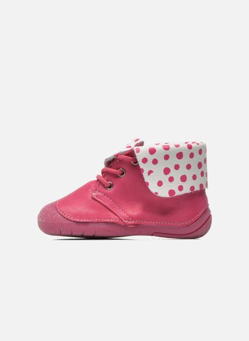Boots en enkellaarsjes Babybotte Zeus Roze voorkant