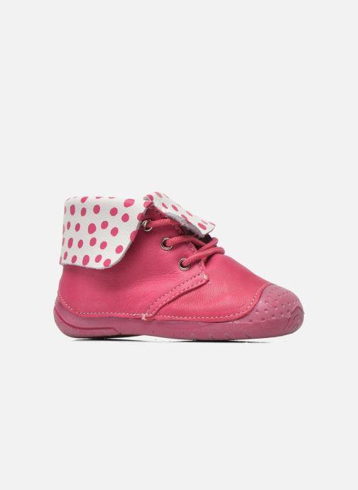 Boots en enkellaarsjes Babybotte Zeus Roze achterkant