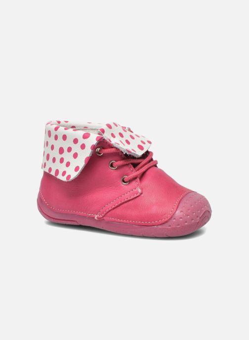 Boots en enkellaarsjes Babybotte Zeus Roze detail