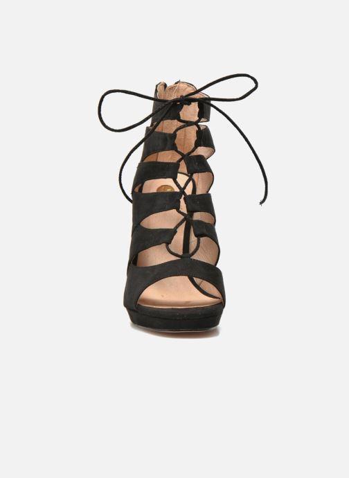 Sandales et nu-pieds La Strada Norana Noir vue portées chaussures