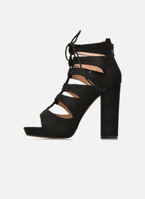 Sandales et nu-pieds La Strada Norana Noir vue face