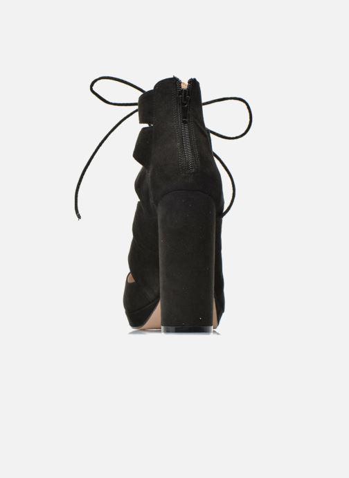 Sandales et nu-pieds La Strada Norana Noir vue droite