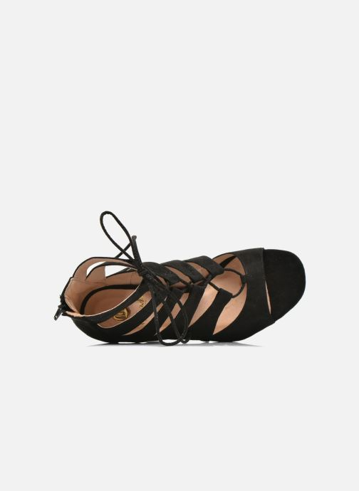 Sandales et nu-pieds La Strada Norana Noir vue gauche