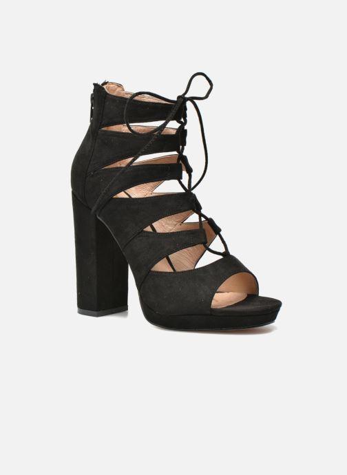 Sandales et nu-pieds La Strada Norana Noir vue détail/paire