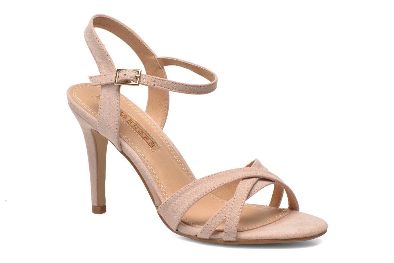 Sandales et nu-pieds Buffalo Ydi Beige vue détail/paire