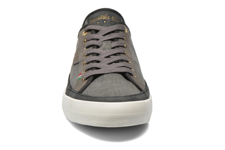 Baskets Pantofola d'Oro Veneto Canvas Low Gris vue portées chaussures