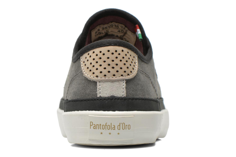 Baskets Pantofola d'Oro Veneto Canvas Low Gris vue droite