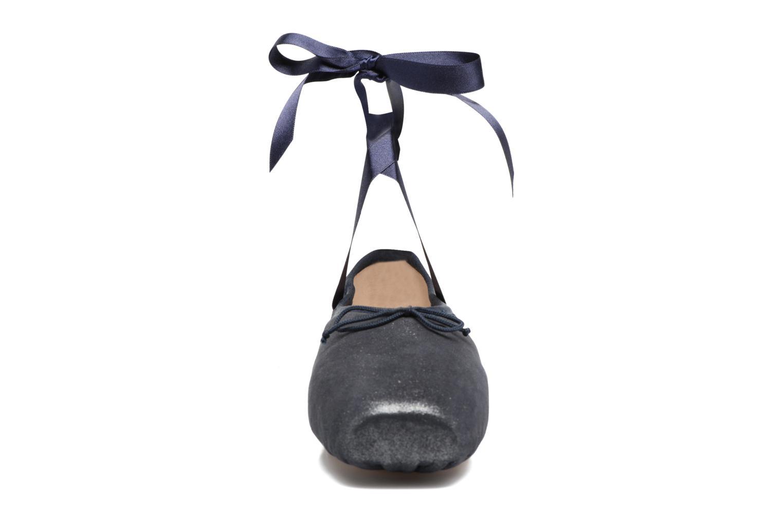 Ballerines Opéra national de Paris Paris Bleu vue portées chaussures