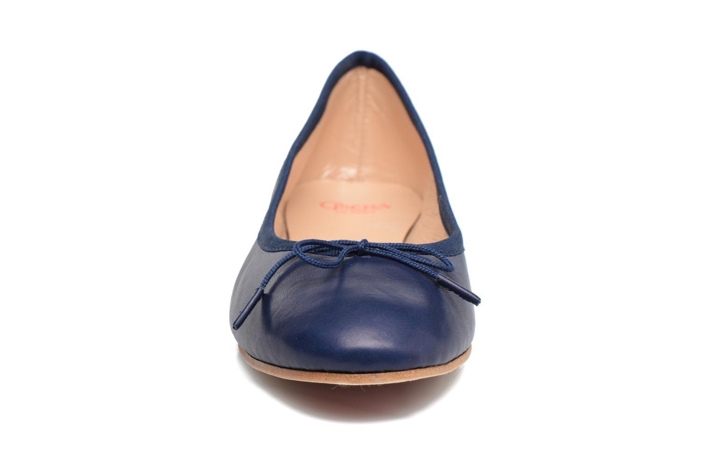 Ballerines Opéra national de Paris Eden Bleu vue portées chaussures