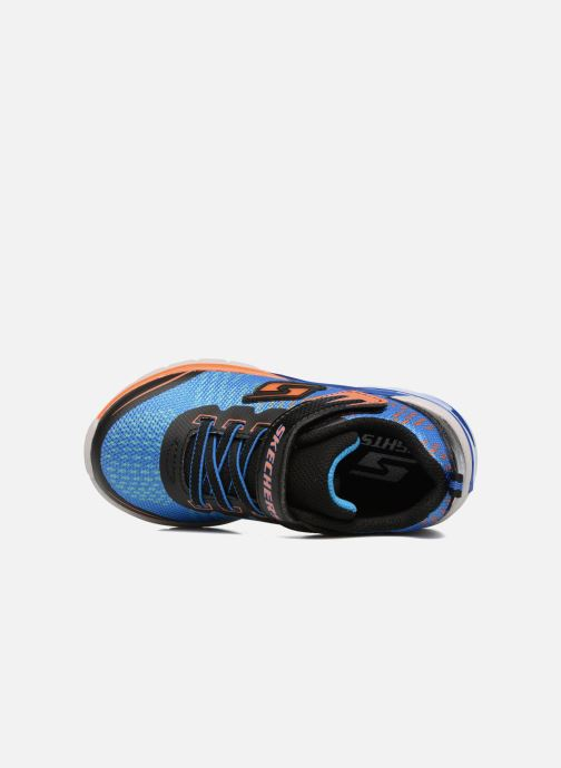 Trainers Skechers Erupters II Lava Arc Blue view from the left