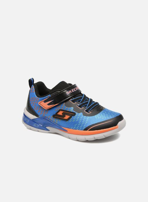 Trainers Skechers Erupters II Lava Arc Blue detailed view/ Pair view
