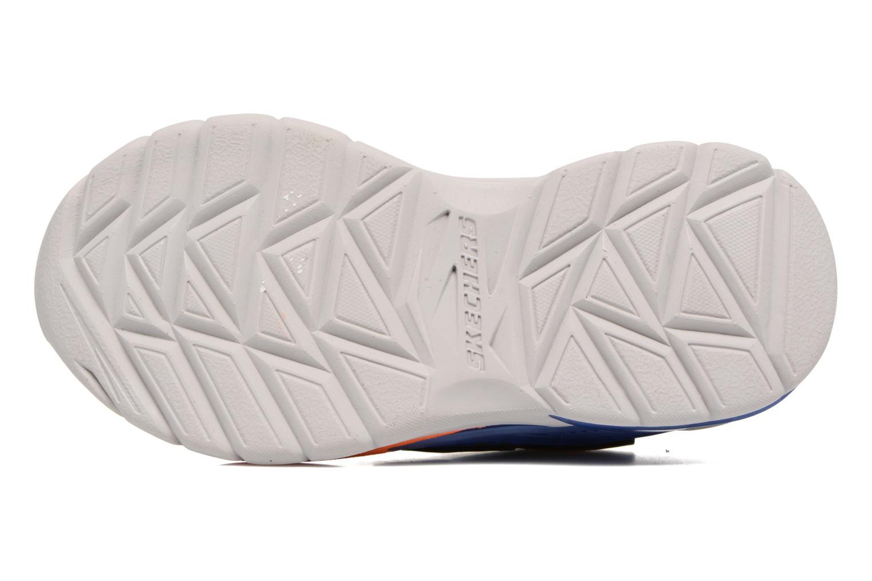 Sneakers Skechers Erupters II Lava Arc Azzurro immagine dall'alto