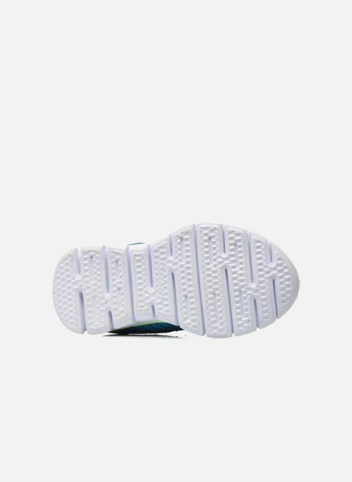 Deportivas Skechers Synergy - Mini Knit Azul vista de arriba