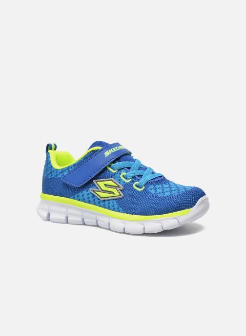 Sneakers Skechers Synergy - Mini Knit Azzurro vedi dettaglio/paio