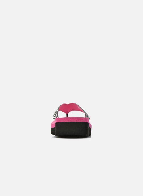 Tongs Skechers Glitter & Rhinestudded Sandal Noir vue droite