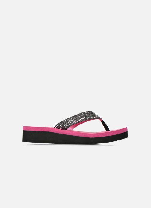 Tongs Skechers Glitter & Rhinestudded Sandal Noir vue derrière