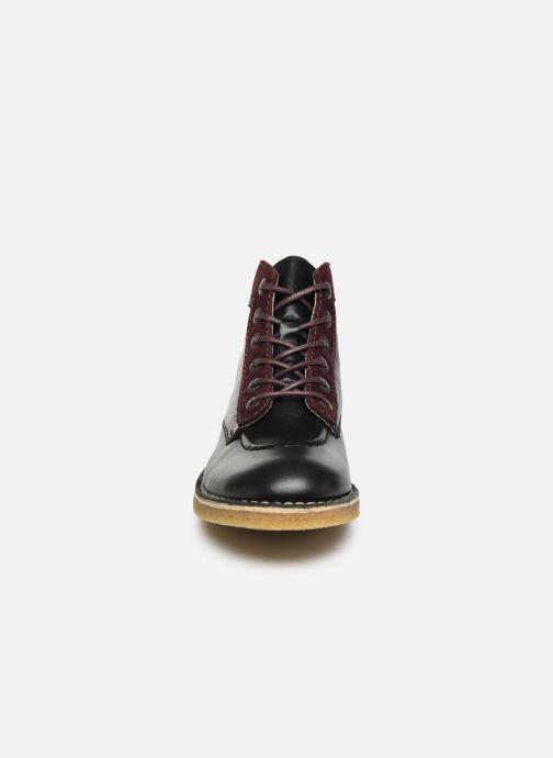 Bottines et boots Kickers Kick legend H Noir vue portées chaussures
