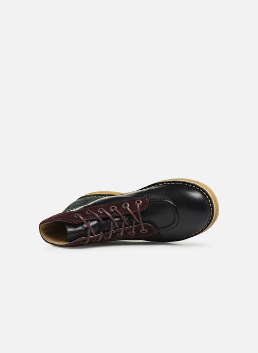 Bottines et boots Kickers Kick legend H Noir vue gauche