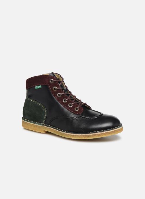 Bottines et boots Kickers Kick legend H Noir vue détail/paire
