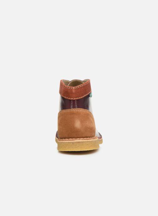 Bottines et boots Kickers Kick legend H Bordeaux vue droite