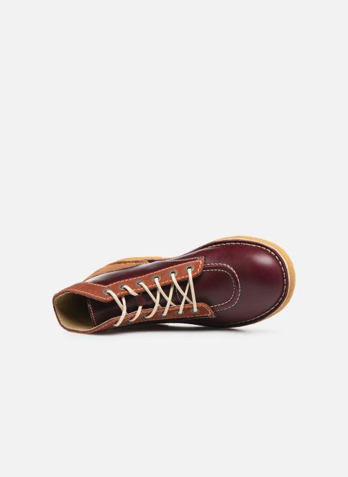 Bottines et boots Kickers Kick legend H Bordeaux vue gauche