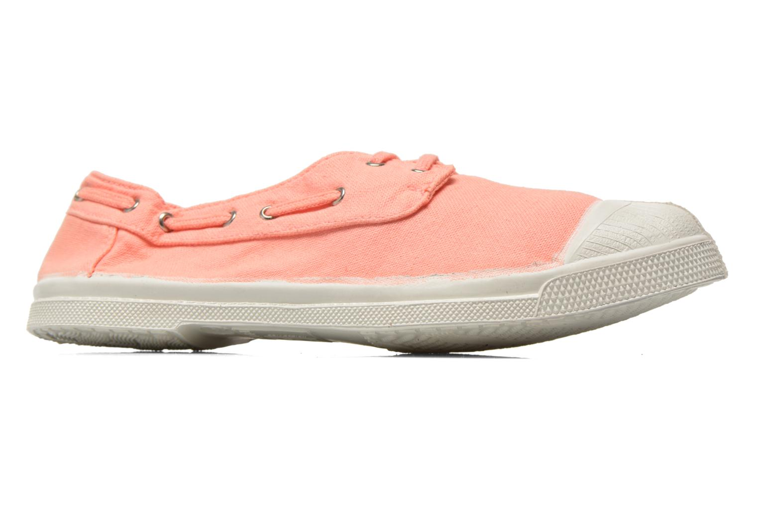 Trainers Bensimon Tennis bateau Orange back view