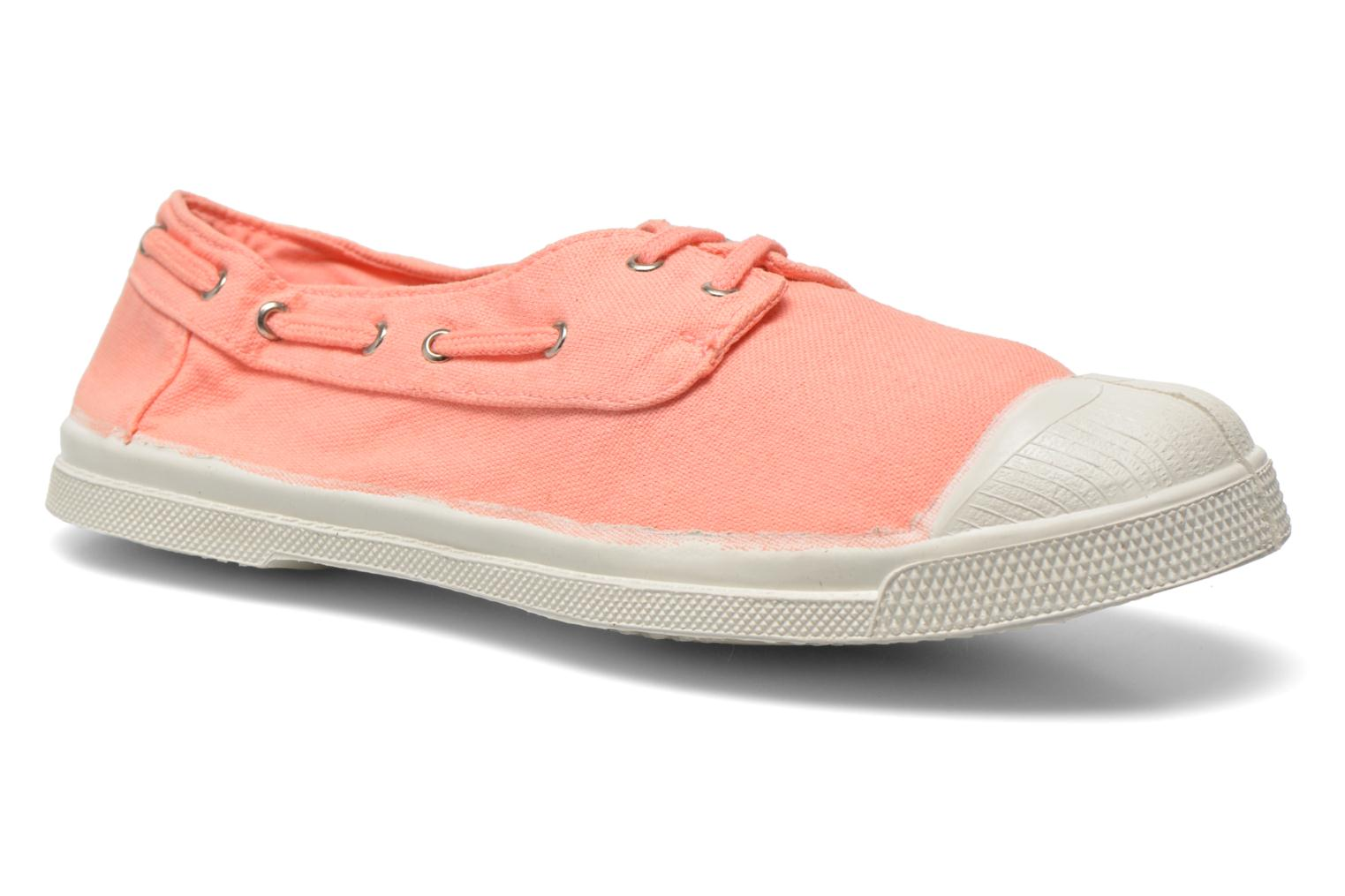 Trainers Bensimon Tennis bateau Orange detailed view/ Pair view