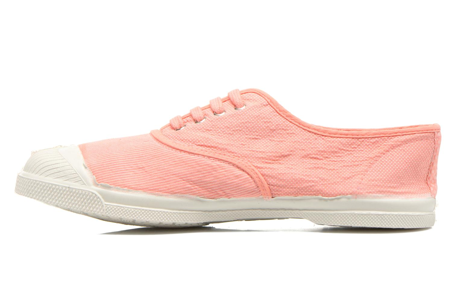 Trainers Bensimon Tennis Mixprint Pink front view