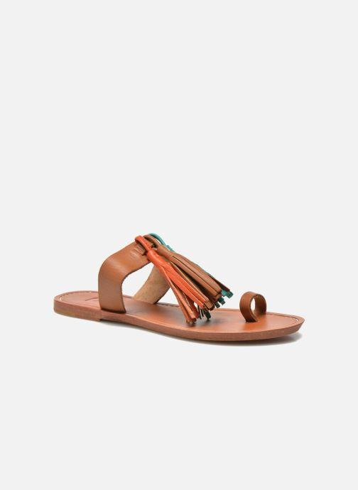 Zuecos Bensimon Sandale Pompon Multicolor vista de detalle / par