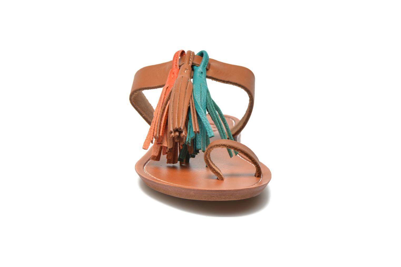 Mules et sabots Bensimon Sandale Pompon Multicolore vue portées chaussures