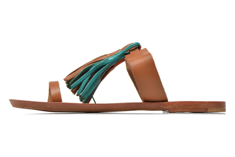 Mules et sabots Bensimon Sandale Pompon Multicolore vue face