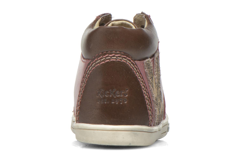 Bottines et boots Kickers Tralala Marron vue droite