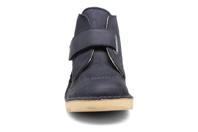 Sko med velcro Kickers Neokrafty Blå se skoene på