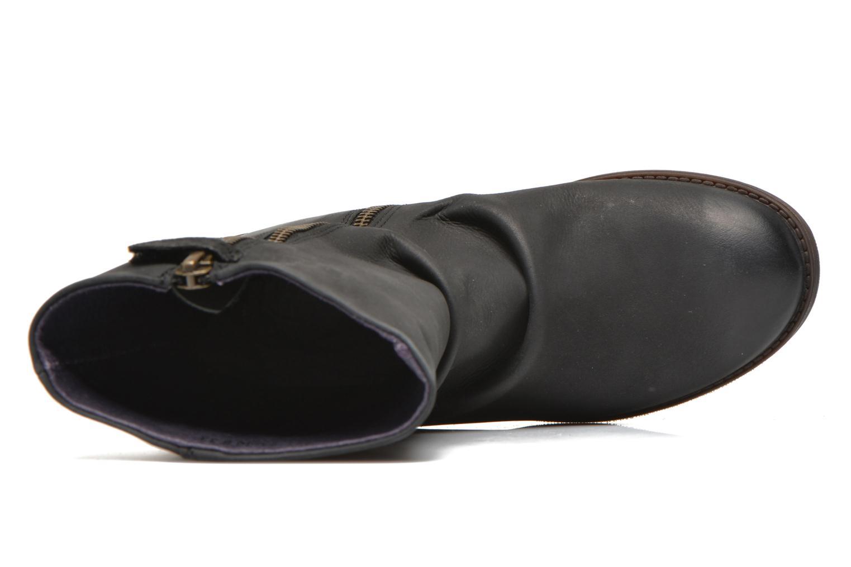 Støvler & gummistøvler Kickers Robin Sort se fra venstre