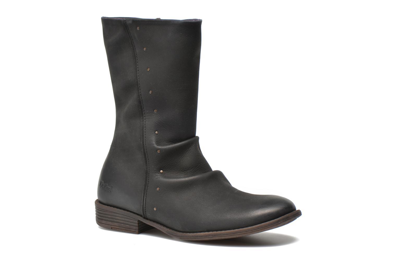 Støvler & gummistøvler Kickers Robin Sort detaljeret billede af skoene
