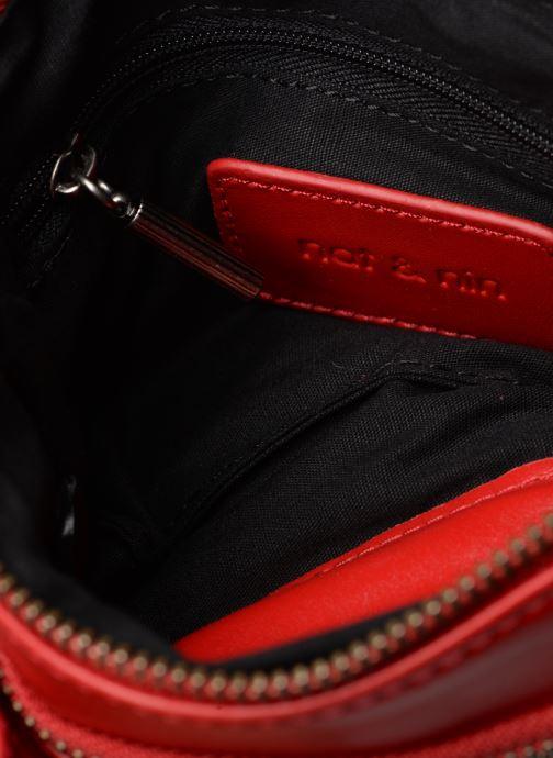 Sacs pochettes Nat & Nin Vicky2 Rouge vue derrière