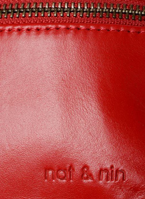 Sacs pochettes Nat & Nin Vicky2 Rouge vue gauche