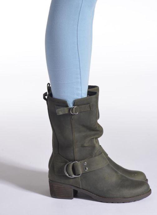 Bottines et boots Hush Puppies Emelee overton Vert vue bas / vue portée sac