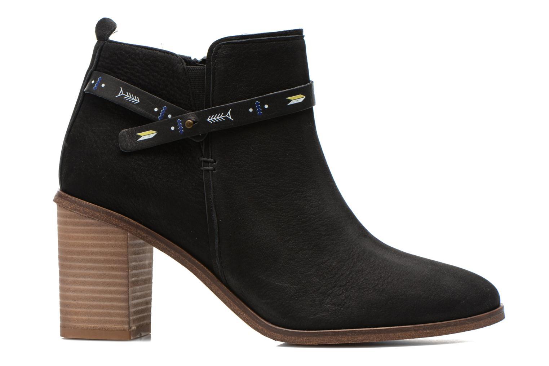 Bottines et boots Schmoove Woman Trust Link Boots Noir vue derrière
