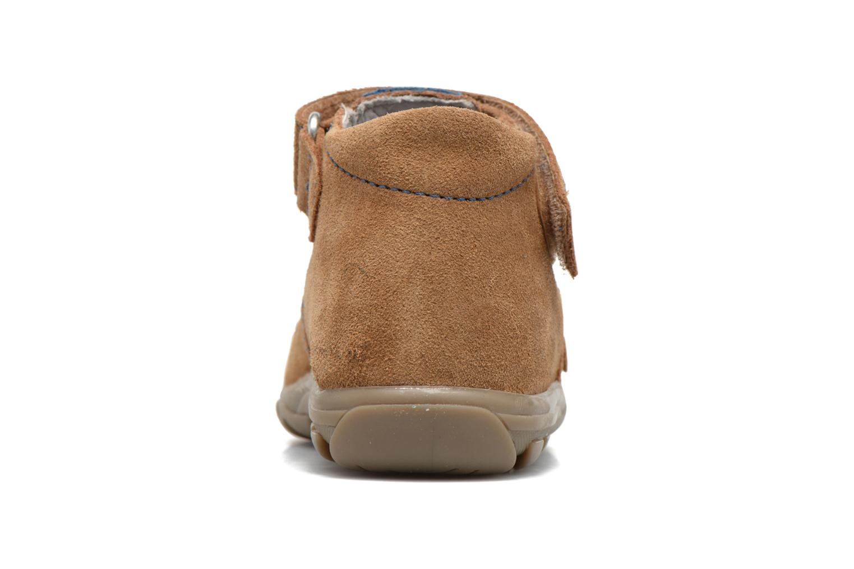 Sandali e scarpe aperte Richter Alenata Marrone immagine destra