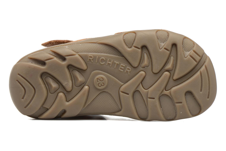 Sandali e scarpe aperte Richter Alenata Marrone immagine dall'alto