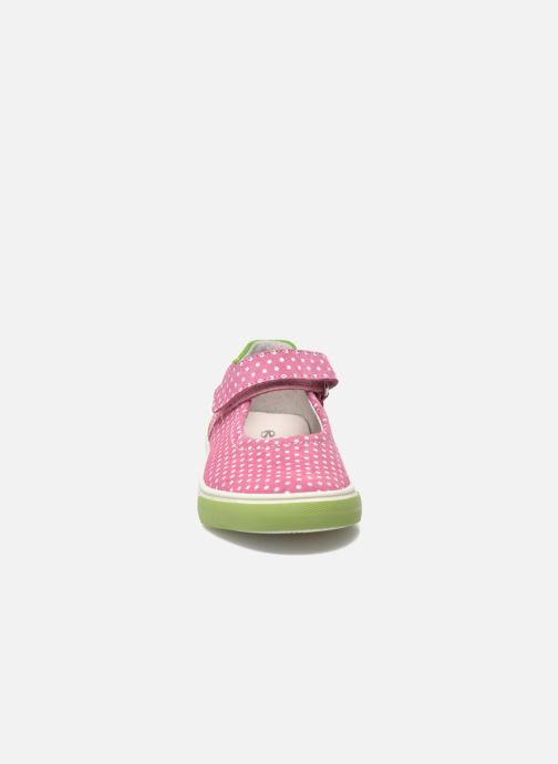 Ballerines Richter Bettinada Rose vue portées chaussures