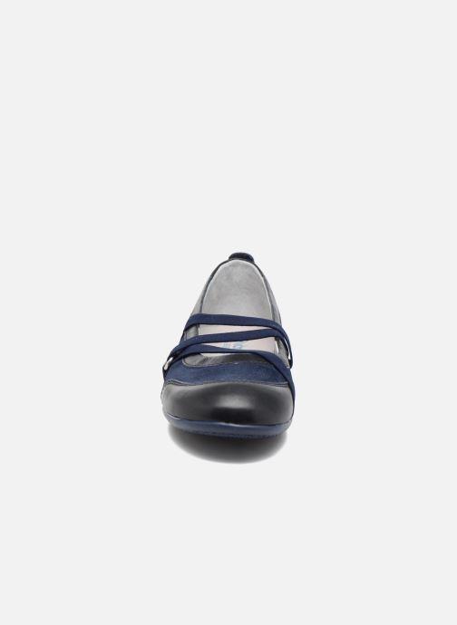 Ballerines Richter Ilsa Bleu vue portées chaussures