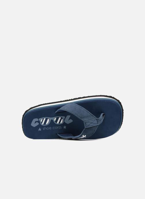 Tongs Cool Shoe Original Bleu vue gauche