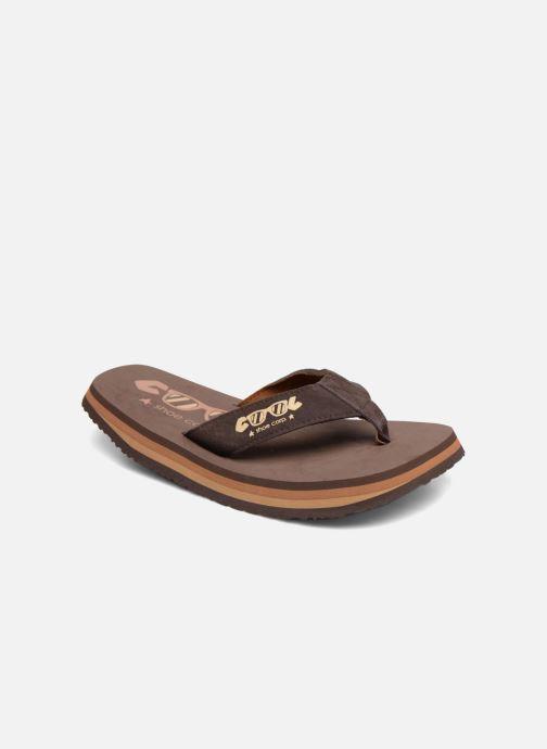 Tongs Cool Shoe Original Marron vue détail/paire