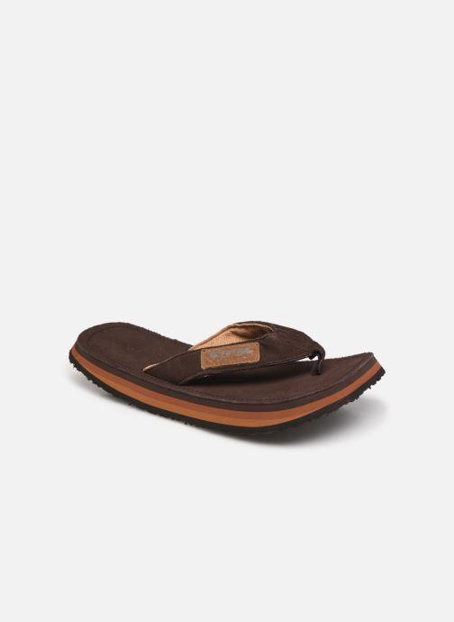 Zehensandalen Cool Shoe 2Lux braun detaillierte ansicht/modell